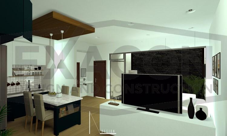 Desain Interior Rumah Minimalis Modern Bapak Anto – Depok 5 EXACON, Jasa Desain Interior Rumah di kota Jakarta