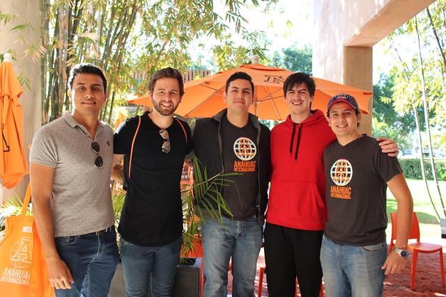 Alumnos de intercambio llegan a la Anáhuac Mayab_Enero 2018