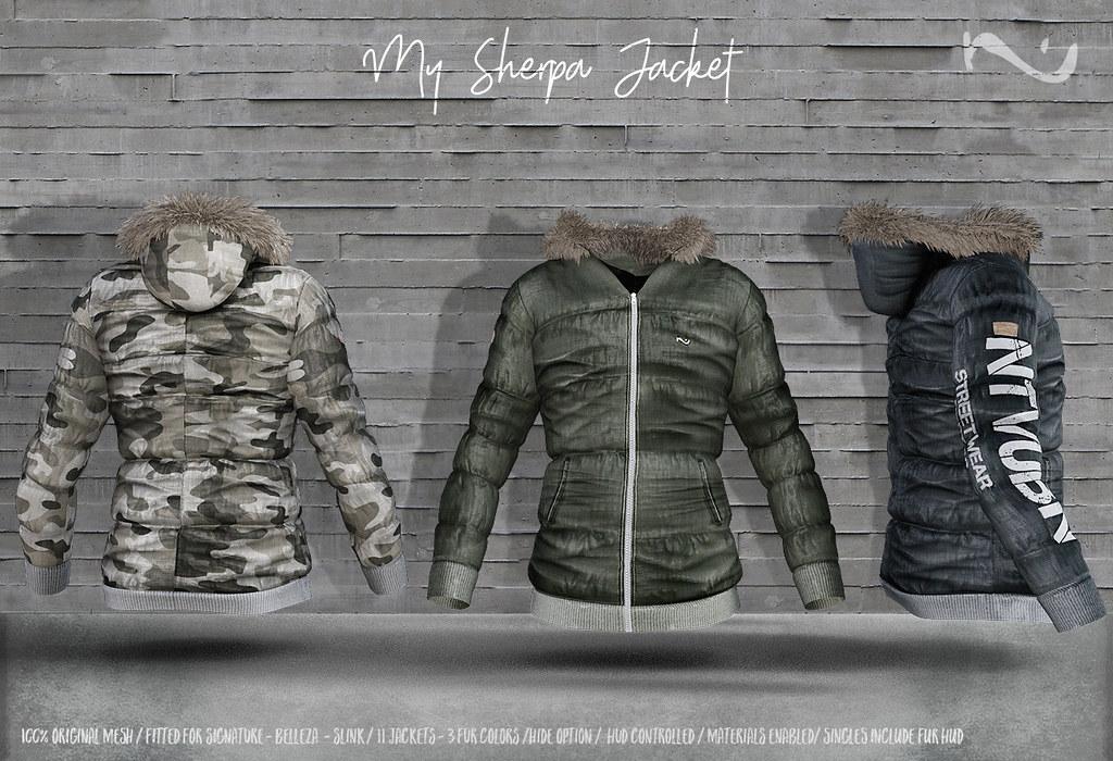 -NU- Sherpa Jacket - TeleportHub.com Live!