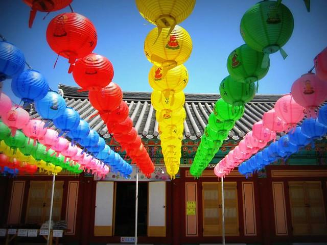 visiting temple while living in Gwangju, Korea