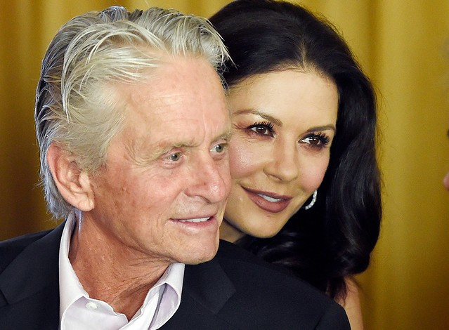 Catherine Zeta-Jones: Husband Michael Douglas is a #MeToo supporter