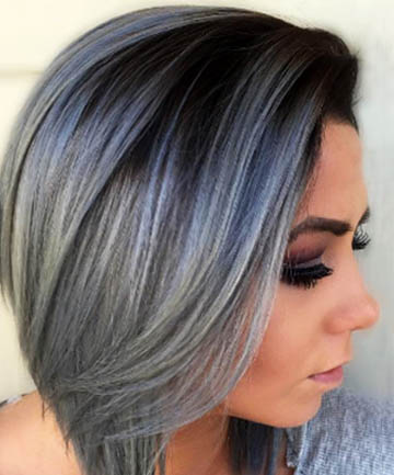 +20 Silver Hair Colors 2018 - Hair Colors 5