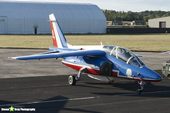 E41 4 F-TERA - E41 - Patrouille de France - French Air Force - Dassault-Dornier Alpha Jet E - RIAT 2010 Fairford - Steven Gray - IMG_8095