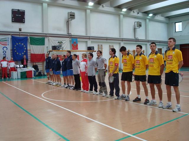 Copa Europa Tamborí Indoor 2009