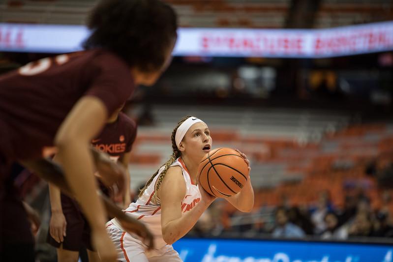 SU Women's Basketball Vs. Vermont