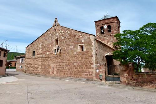 HIJES (Guadalajara). Spain. Sierra Norte. 2014. Iglesia de la Natividad (sXII-XIII).