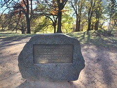 Prospect Park plaque, Brooklyn