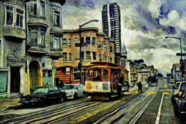 Mason and Pacific, San Francisco