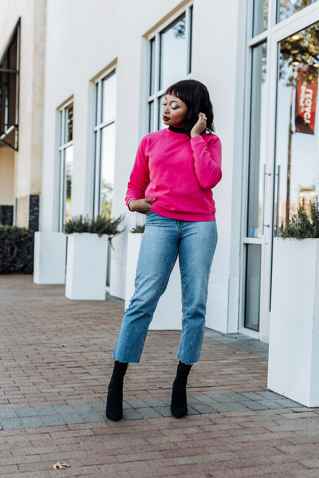 how to style ankle length skinny jeans
