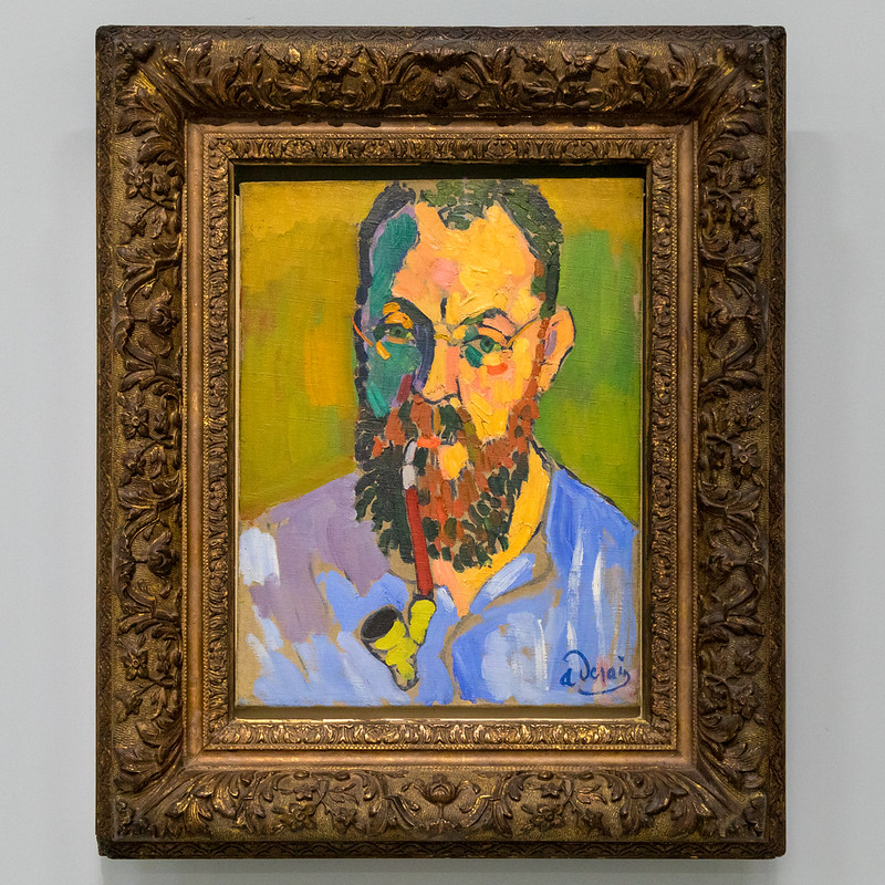 Henri Matisse (1905) by André Derain | Centre Pompidou | Paris-1