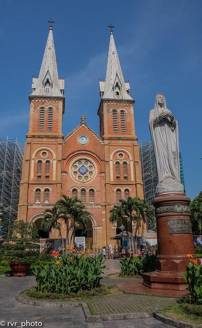 Catedral Notre Dame de Saigon, Vietnam