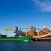 The Arklow Manor, docked at Blyth port. . .