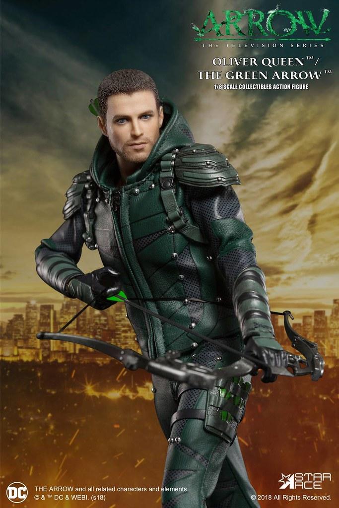 現代羅賓漢駕到~!Star Ace Toys DC TV Real Master 系列《綠箭俠》綠箭俠 豪華版 Green Arrow (Deluxe Version) 1/8 比例人偶作品