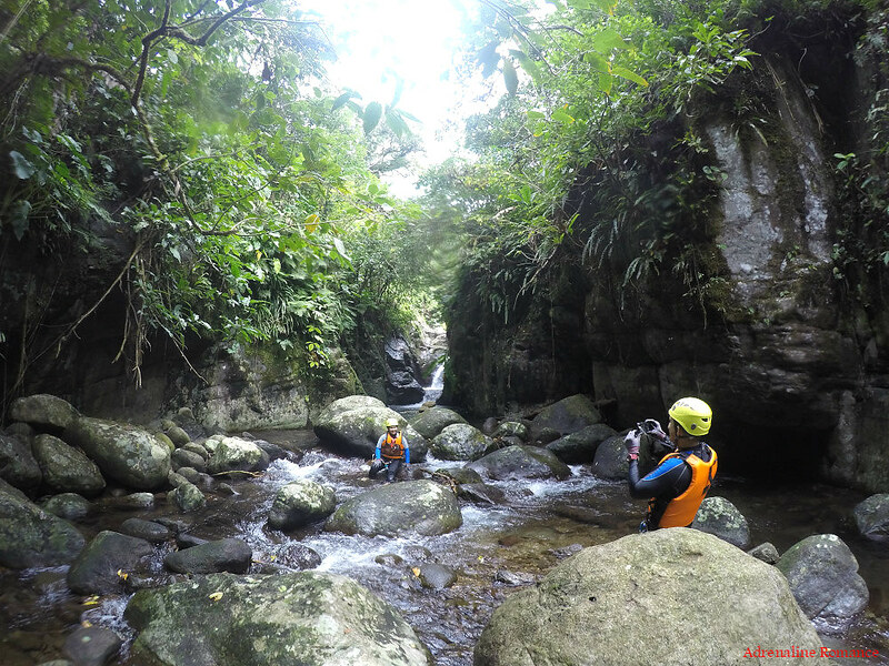 Canyoning in Sampao River