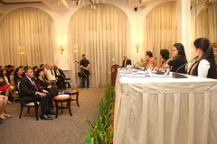 Ambassador Heidt joined AmCham Cambodia and Cambodian Minister of Women's Affairs H.E. Ing Kantha Phavi last week to tout the importance of networking in running being a successful entrepreneur in Cambodia.
