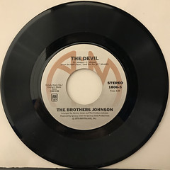 THE BROTHERS JOHNSON:I'LL BE GOOD TO YOU(RECORD SIDE-B)