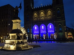 Place d'Armes in Old Montreal
