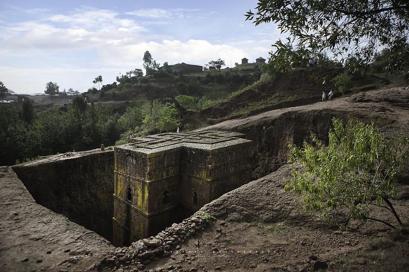 Bete Giorgis, Lalibela. Ethiopia.