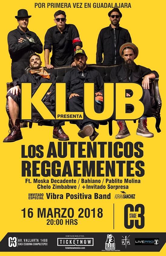 Klub los Auténticos Reggaementes / C3 Stage