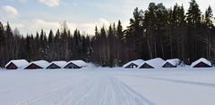 Rönningsjön, boathouses