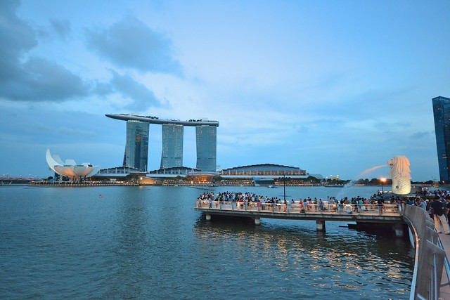 singapore first timer marina bay