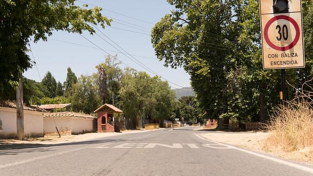 Hauptstrasse in Santa Amelia