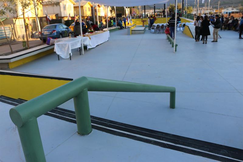 Skatepark - Barrio Aguas del Elqui y Río Turbio – Vicuña