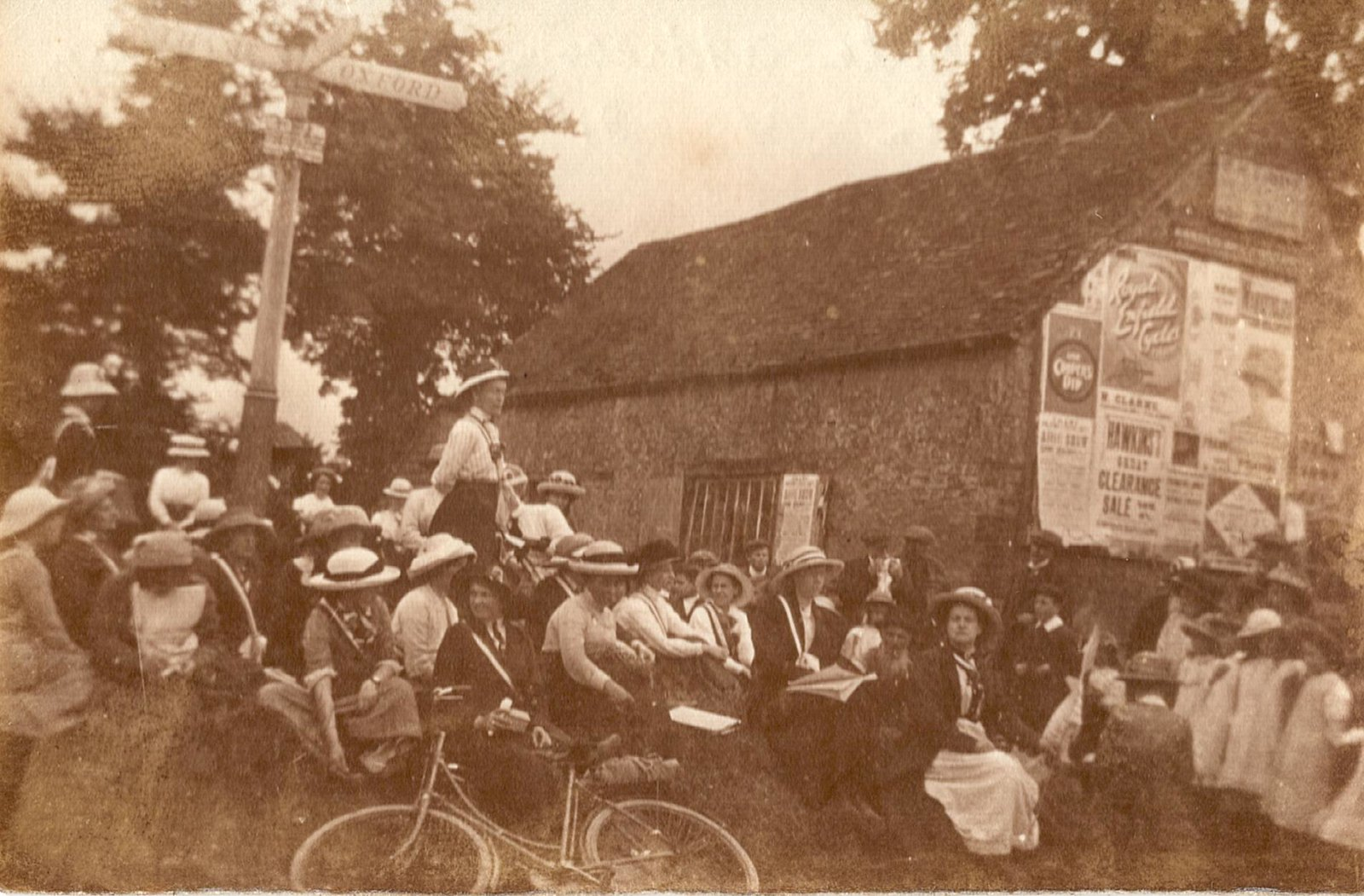 The Suffrage Pilgrimage of 1913