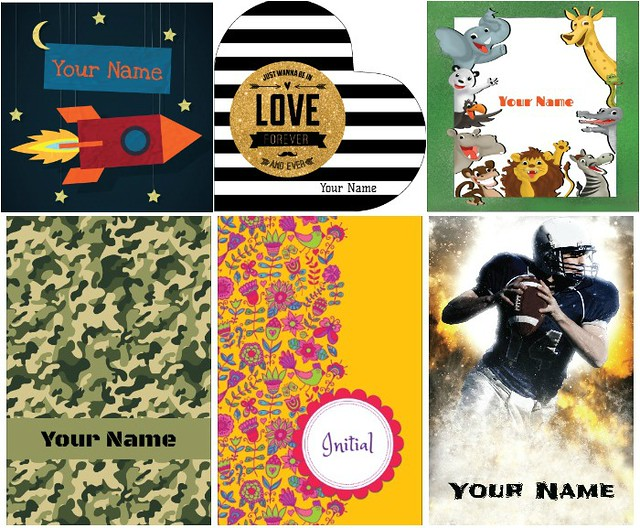 Gotcha Covered Notebooks cover designs on The SIMPLE Moms