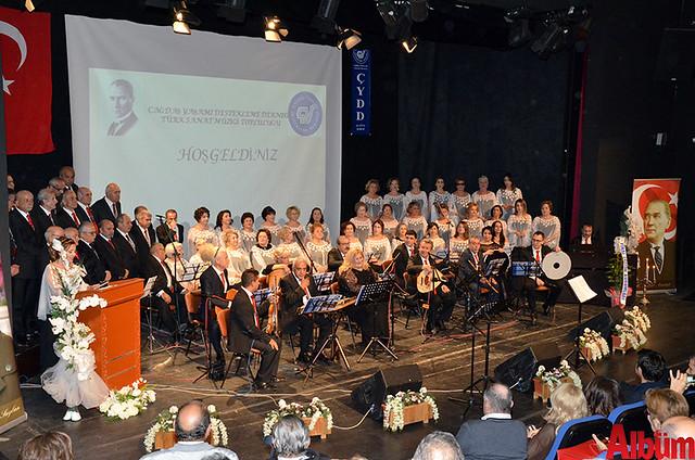 Çağdaş Yaşamı Destekleme Derneği Türk Sanat Müziği Topluluğu Selahattin Pınar Anma Gecesi -4