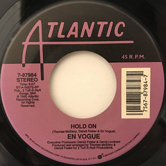 EN VOGUE:HOLD ON(LABEL SIDE-A)