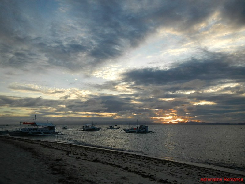 Sunrise at Malapascua Island