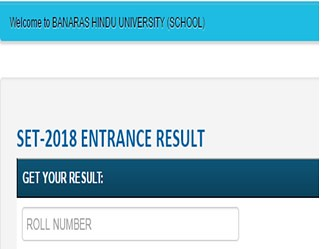 BHU SET Result