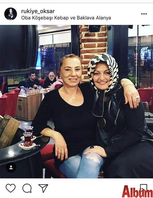Alanya'nın sevilen isimlerinden Rukiye Okşar, yakın dostu Rabia Helvacı ile birlikte Oba Köşebaşı Kebap & Baklava 'da keyifli bir akşam geçirdi.