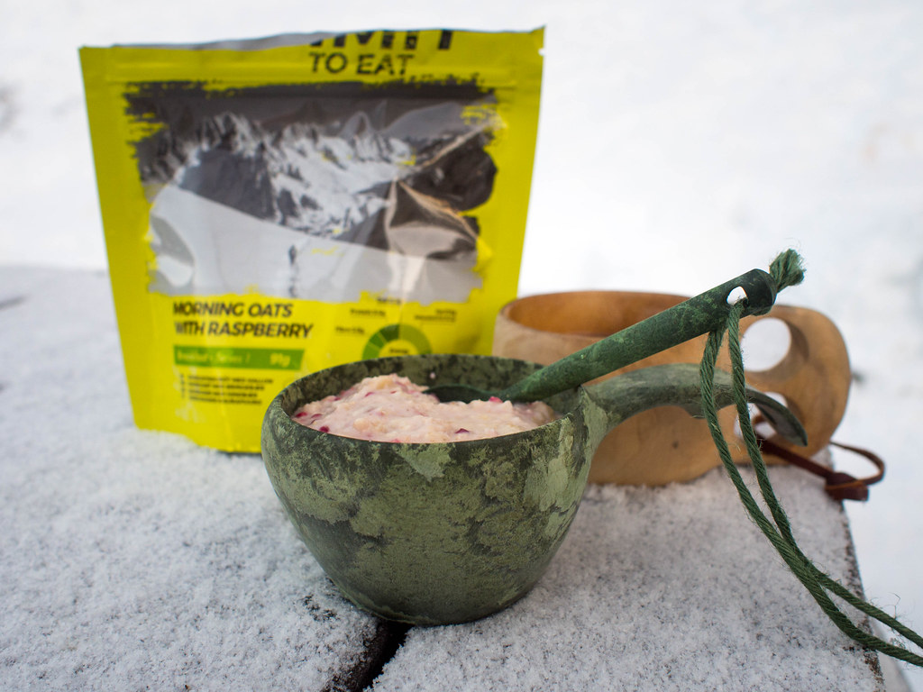 Easy breakfast for a winter camping trip
