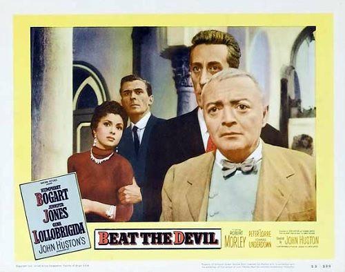 Beat the Devil - lobbycard 1