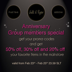 S&P Anniversary Promotion