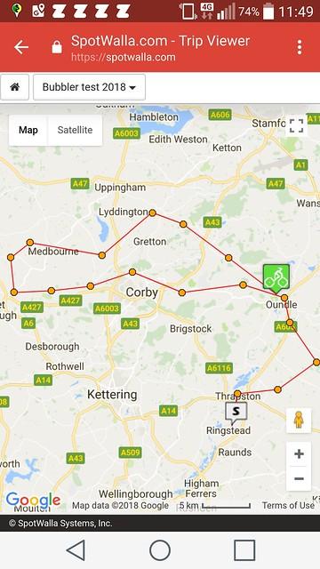 Test1 Spotwalla map