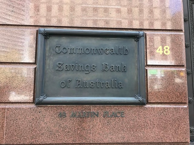 Sydney Commonwealth Bank building