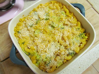 Butternut Squash Macn and Cheese