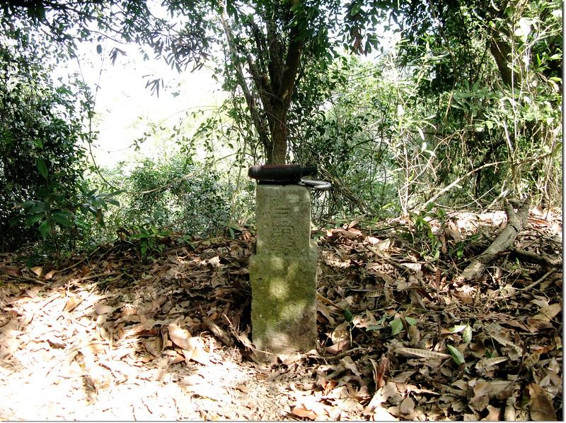 中坑山山字森林三角點(Elev. 219 m) 1