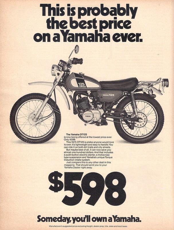 Yamaha 1976 1 DT125