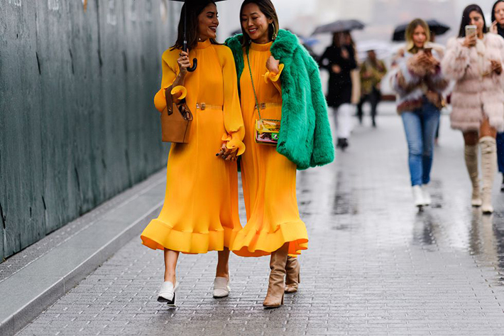 Best Street Style at New York Fashion Week Fall 2018 trend street style fashion outfit 201811