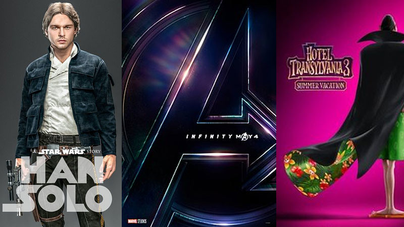 Tiga film yang dinanti tahun 2018.
