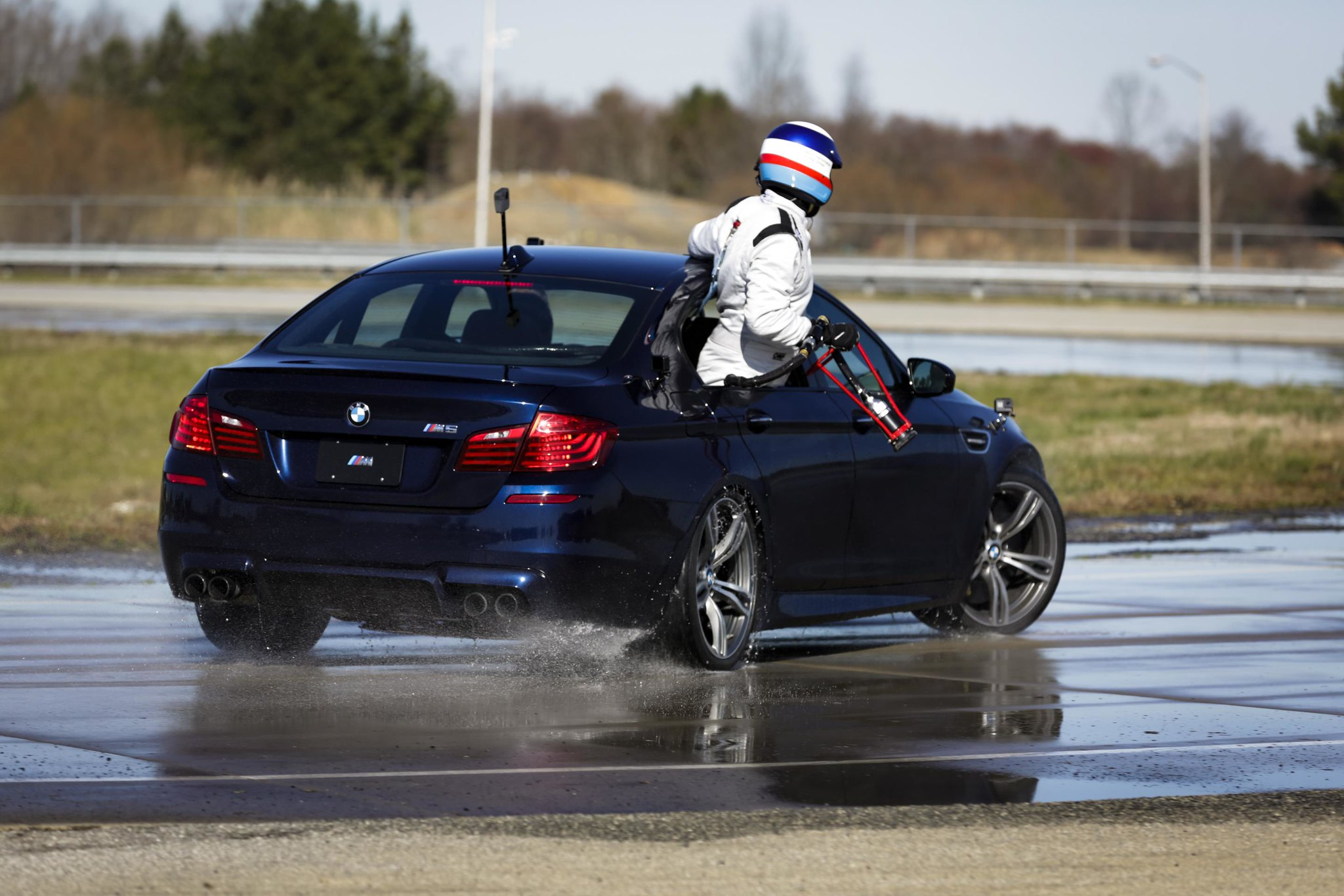 BMW sets two Guinness World Records titles for drifting in the 2018 M5