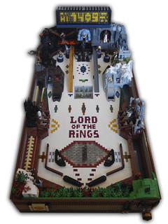 拜託,可以讓我玩玩看嘛?!Vladimir van Hoek 樂高MOC 作品【魔戒樂高彈珠台】LEGO Lord of the Rings Pinball