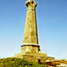 The monument at Carn Brea, Cornwall, 6th July 1992