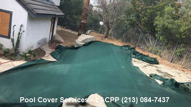 REO Pool Cover Los Angeles | Bank Owned Property Preservation