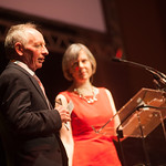Alan Taylor and Rosemary Goring host the event | © Alan McCredie