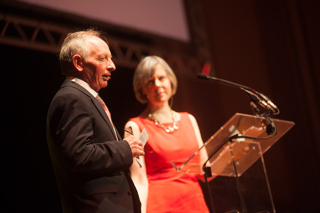 Alan Taylor and Rosemary Goring host the event